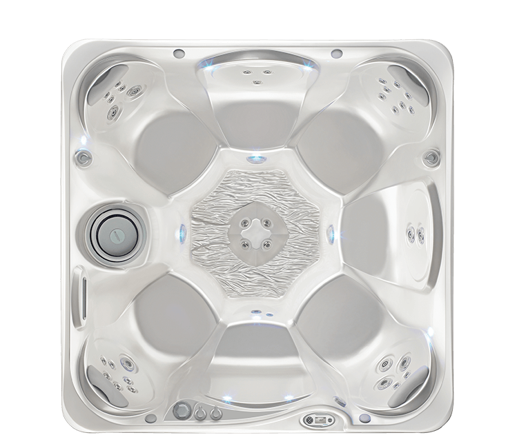 500x450 top view hotspring rhythm rhythm in the hot spot series of hot tubs by hot spring