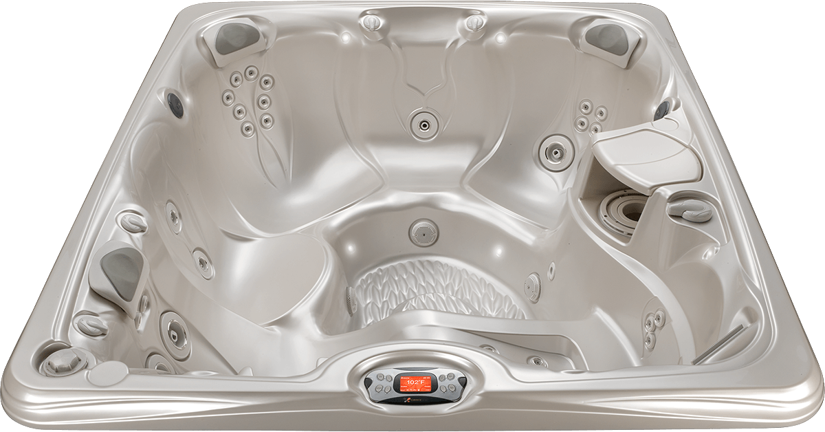 Martinique | In the Paradise Series of Hot Tubs by Caldera