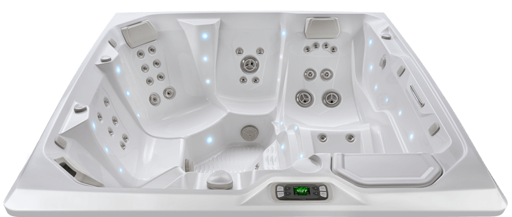 flair in the limelight series of hot tubs by hot spring rh allenpools spas com